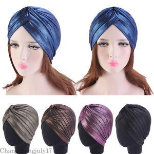 Muslim-Women-Soild-Indian-Hat-Turban-Beanie-Headwear-Hair-Loss-Scarf-Cancer-Caps