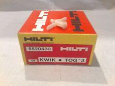 HLD 3 HIlti 335507 Drywall anchor KWIK TOG 3 anchor systems