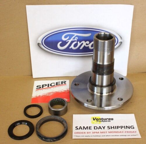 Ford Dana 60 Front Spindle F350 1978-1997 King Pin Or Ball Joint Axle