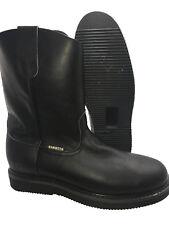 d756eee4197 Herman Survivors Brown Leather Blake Oil/slip Resistant Men Size 9 ...