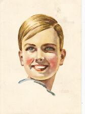 Blendax-Max, Junge mit weissen Zähnen, Werbung-Reklame-Zahnpasta-Dentist-Mainz