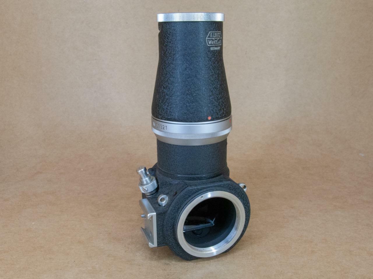 Leitz Leica Visoflex I OZYXO 16485 with LVFOO 16486 5X magnifier for LTM mount
