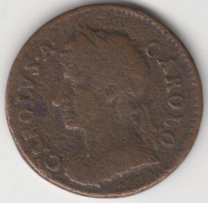 1674 Charles II Farthing   Copper   Coins   Pennies2Pounds