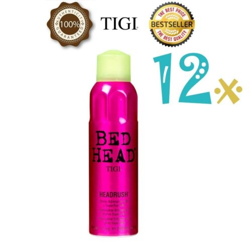 12 x TIGI BED HEAD HEADRUSH SHINE ADRENALINE 200ml SPECIAL OFFER