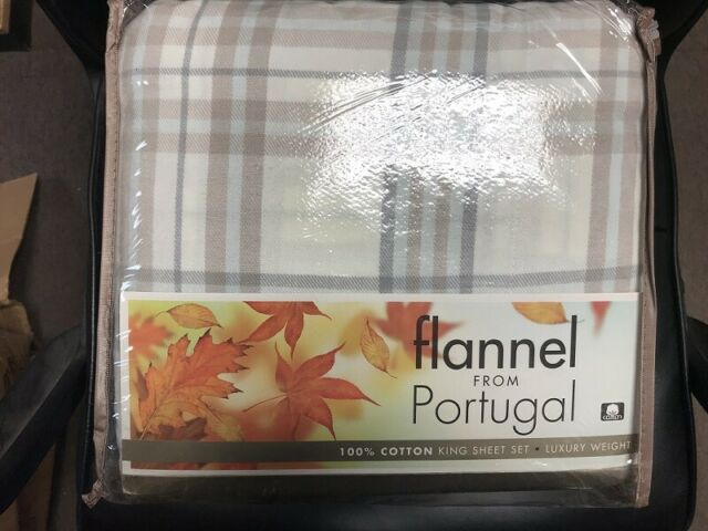 Divatex Flannel From Portugal 4 Piece King Sheet Set Beatrice Paisley For Sale Online Ebay