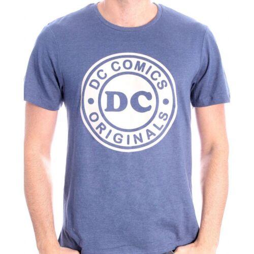 NEW OFFICIAL DC COMICS SYMBOL LOGO NAVY BLUE T-SHIRT