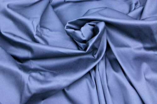 """/""""60/"""" wide dress fabric 7 colours sold by meter Cotton stretch sateen fabric"""