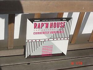 Rap n House - The hottest Trax - von Bravo 1988 - Vinyl LP - Heisser Sound - Deutschland - Rap n House - The hottest Trax - von Bravo 1988 - Vinyl LP - Heisser Sound - Deutschland