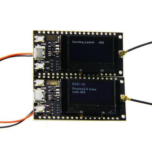 433 MHz pour Arduino 128 MT TTGO LORA SX1278 ESP32 Rev 1 0.96 OLED 16 Mt octets