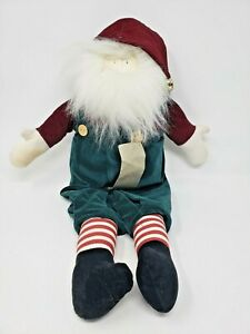WOOF-amp-POOF-Musical-Santa-Plays-JINGLE-BELLS-21-Inches-with-Tags