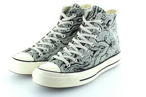 Converse Chucks Schuhe Neu Größe 9,5 43 in Silber Limited Edition