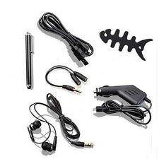 6in1 Accessories Bundle Car Charger Stylus Pen for Amazon Kindle Fire HD 7 / 8.9