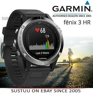 57879338296e Garmin Fenix 3 Hr Reloj Deportivo Running │ GPS + Glonass ...