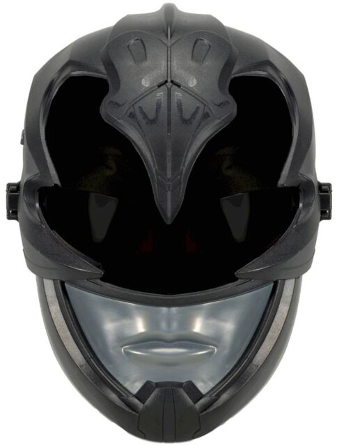 Power Rangers Movie Fx Black Ranger Exclusive Mask With Sound Effects For Sale Online