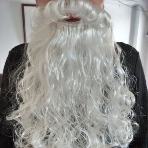 US Deluxe Santa Claus Costume Adult Suit Christmas Plush Outfit Fancy Dress