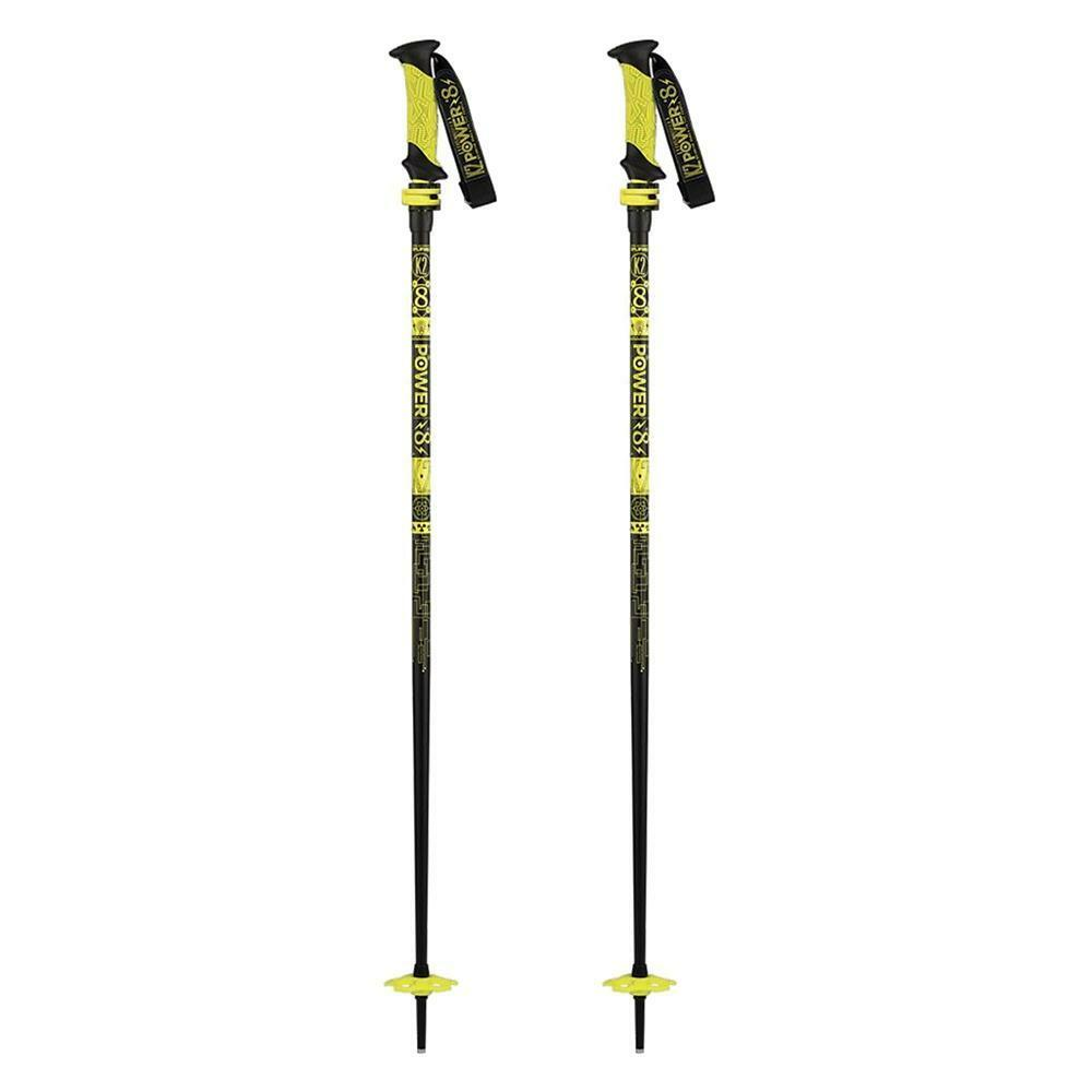2016 K2 Power 8 Flipjaw Short adjustable Ski Poles