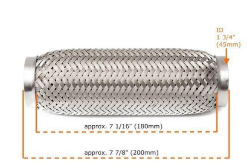 Für Toyota Flexrohr Flexstück 180mm Flammrohr Hosenrohr Auspuff Rohr 45x200mm