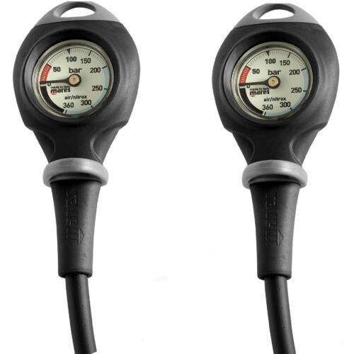 LO3 TWO PIECES MARES MISSION 1 PRESSURE GAUGE