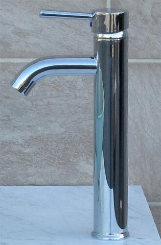 Bathroom Ceramic Vessel Sink With Chrome Faucet /& Drain 7680D03