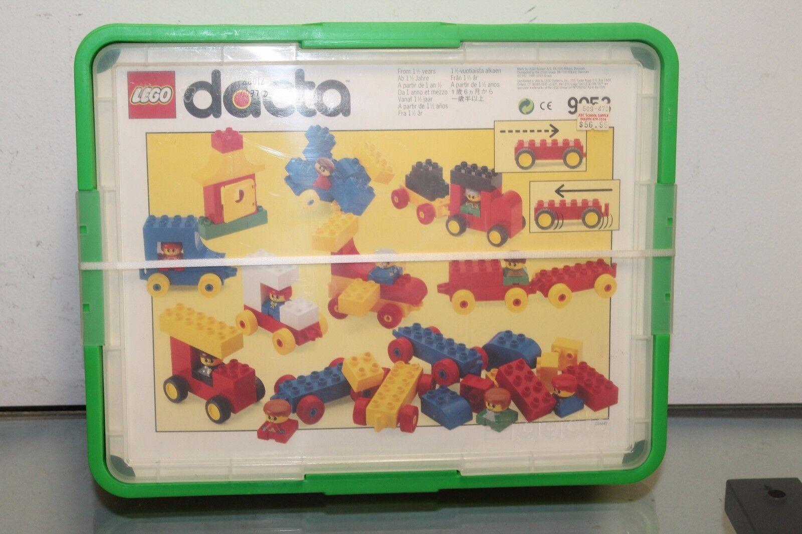 LEGO 1992 DUPLO DACTA HOME 9053  brand new sealed box bags cars rare kids VTG 90
