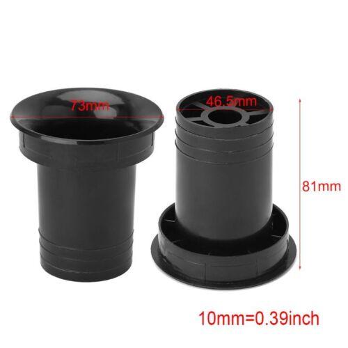 2PCS Speaker Port Tube Bass Reflex Vent Ventilation Connector 2// 5inch 66x78mm