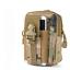Sacoche-de-Ceinture-Style-Militaire-Randonnee-Scout-Trekking-Camping-Smartphone miniature 12
