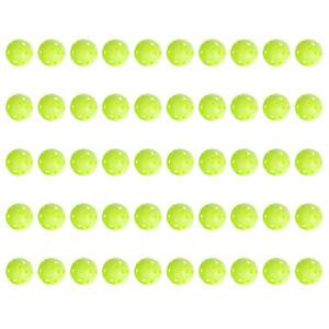 50pcs-Green-Golf-Practice-Balls-Plastic-Golf-Elastic-Hollow-Ball-Sports-Training