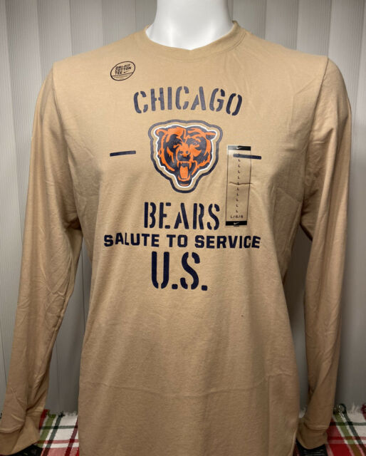 Nike Salute to Service Chicago Bears Long Sleeve Men's Size Large, XL
