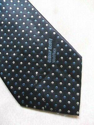 Bene Vintage Tie Cravatta Da Uomo Blu Logo Azienda Aziendale Balfour Beatty Posto Di Lavoro-mostra Il Titolo Originale