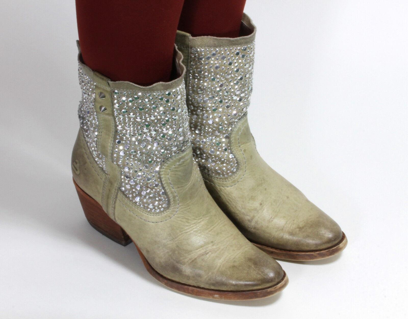 Westernstiefel Cowboystiefel Catalan Style Line Dance Stiefel Stiefeletten 37