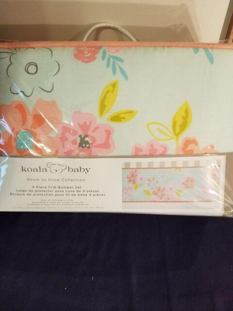 Koala Baby 4 Piece Crib Bedding Set Room To Grow Collection Ebay