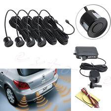 Parking 4 Sensors Car Reverse Backup Rear Buzzer Radar System Kit Sound Alarm