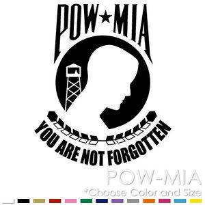 POW-MIA-FLAG-MILITARY-ARMY-HARLEY-CHOPPER-CAR-WINDOW-VINYL-DECAL-STICKER-PM-01