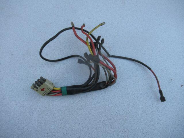 Porsche 911    912 Early Headlight Switch Wiring Harness  1