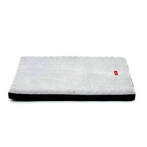 SNOOZA Orthobed Dog Cat Orthopaedic Bed Large Plush Grey 120 x 87 x 7cm