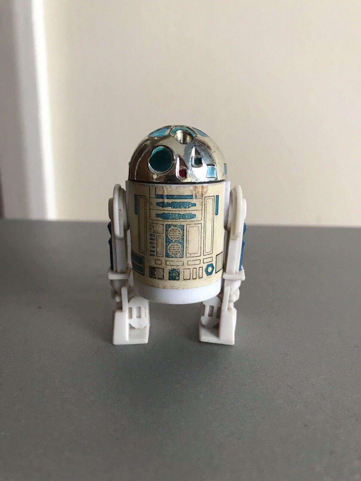 Vintage Star Wars Last 17 R2-D2 Pop Up Up Up sabre laser LFL 1985 RARE! 9391d7