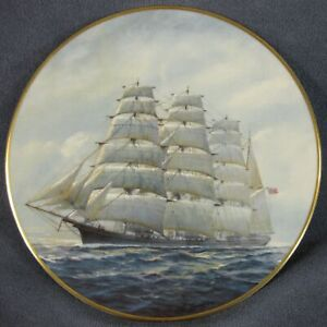 Golden-Age-Of-Sail-Great-Republic-Collector-Plate-Charles-Lundgren-Clipper-Ships