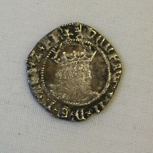 King Henry 8th silver hammered coin halfgroat viii