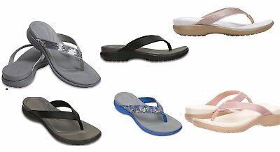 Sandalen & Badeschuhe 202502 Women's Crocs CAPRI V Relaxed
