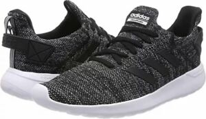 Adidas-Cloudfoam-Mens-Lite-Racer-Shoes-BYD-BLACK-GREY-Running-Shoes-Size-10-5