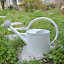 thumbnail 14 - HORTICAN Galvanized Watering Can Modern Style Watering Pot with Handle for Outdo