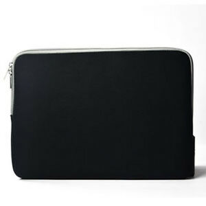 Black Zipper Sleeve Bag Case Cover For All Laptop 13 Macbook Pro Air 700191511971 Ebay