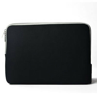 """BLACK Zipper Sleeve Bag Case Cover for All Laptop 13"""" Macbook / Pro / Air"""