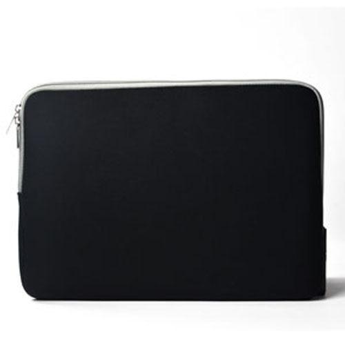 BLACK Zipper Sleeve Bag Case Cover for All Laptop 13