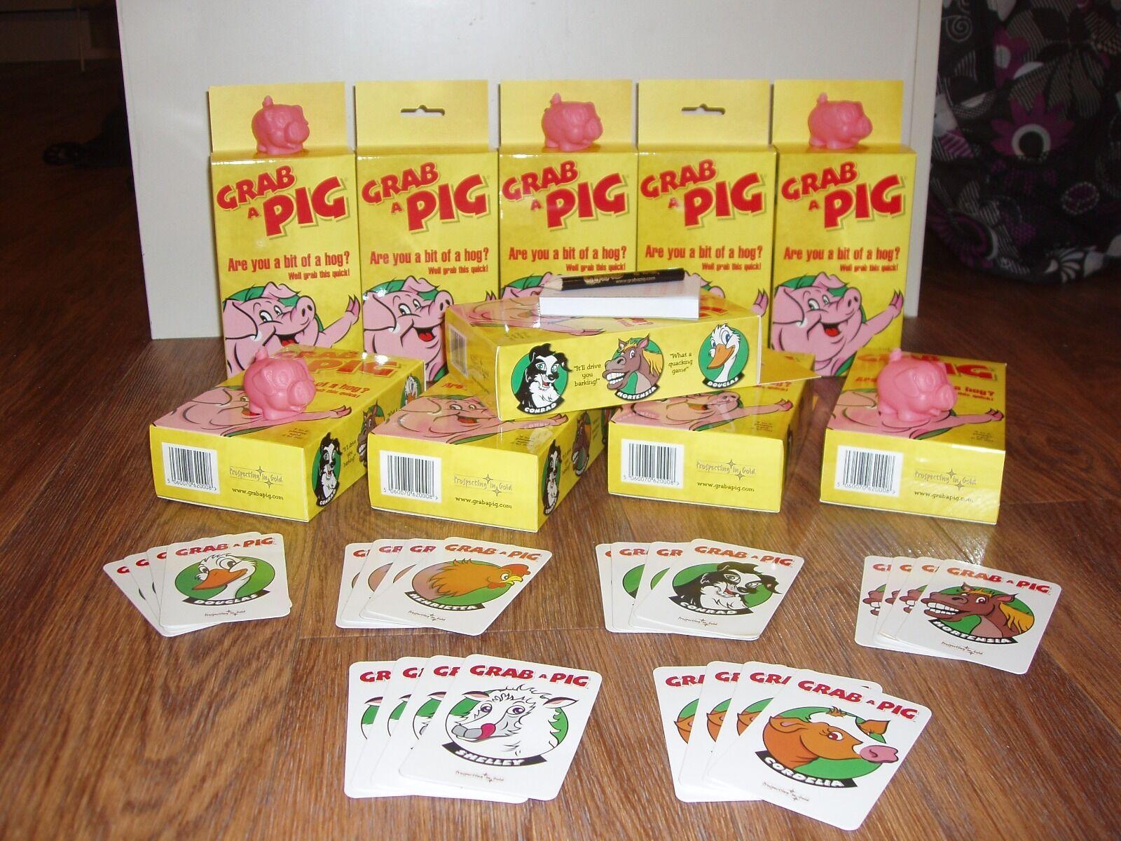 GRAB A PIG FUN CARD GAMES BUNDLE