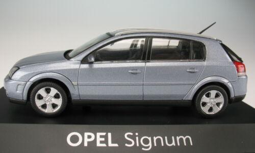 silber metallic OPEL Signum NEU in OVP Modellauto SCHUCO 1:43