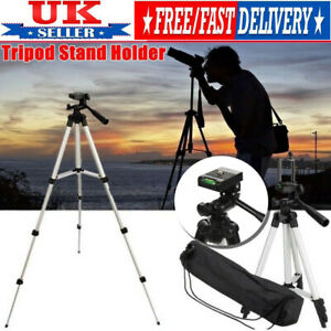 TRIPOD-STAND-MOUNT-HOLDER-FOR-DIGITAL-CAMERA-CAMCORDER-PHONE-IPHONE-DSLR-SLR-UK