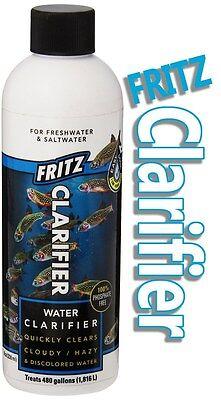 Fresh And Saltwater Aquarium 80176fm High Standard In Quality And Hygiene Fritz Aquatics Clarifier Solution 8 Oz Fish & Aquariums