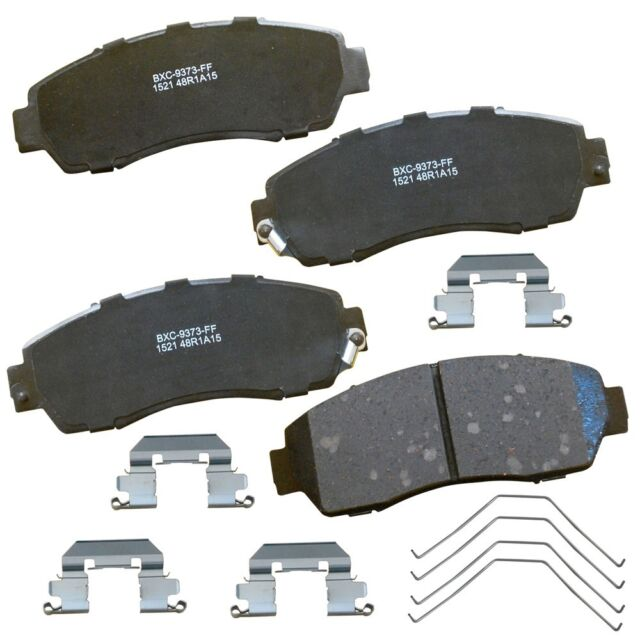 Subaru 16-19 Outback /& Legacy 3.6 15-18 Forester XT 2016 17 Wrx Front Brake Pads