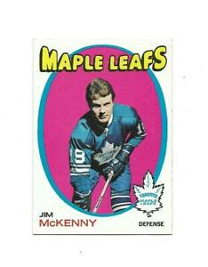 1971-72 Topps:#43 Jim McKenny,Maple Leafs